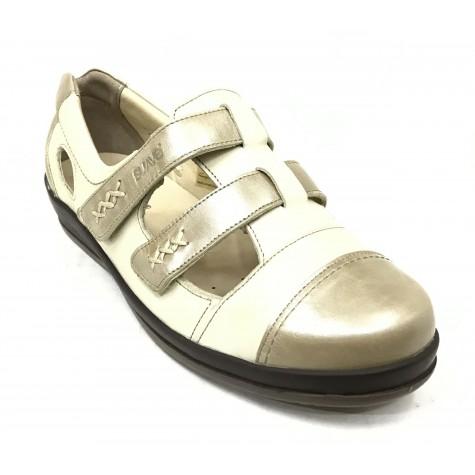 SUAVE 55 3119 Zapato Mujer Pie Diabético Beig