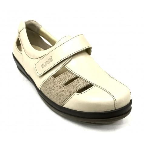 SUAVE 56 3123 Zapato Mujer Pie Diabético Crema