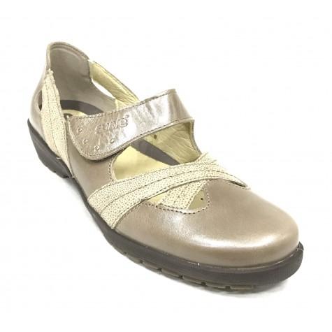SUAVE 57 3461 Zapato Mujer Beig velcro