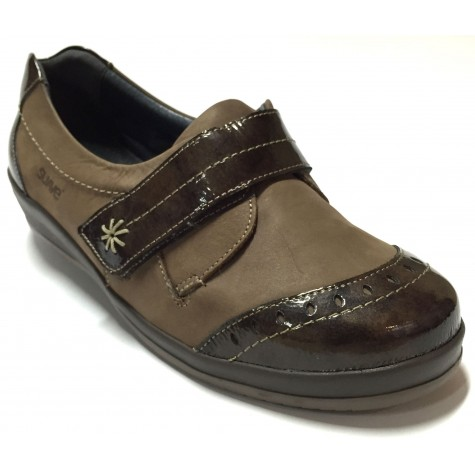 Suave 68 3100 Marrón Zapato Diabético de Mujer