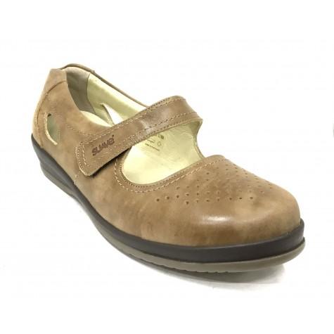 SUAVE 67 3127 Zapato Mujer Pie Diabético Marrón