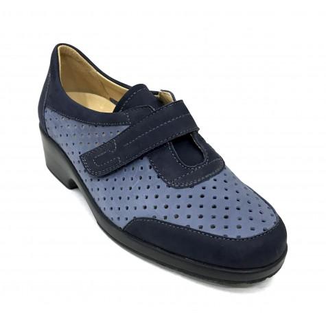 Flex&Go 67 5507 Zapato calado Mujer Azul