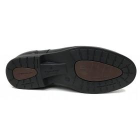 Tolino A7900 Vacuno soft Negro, Ancho 10, cordones, forro de piel y piso de poliuretano muy ligero