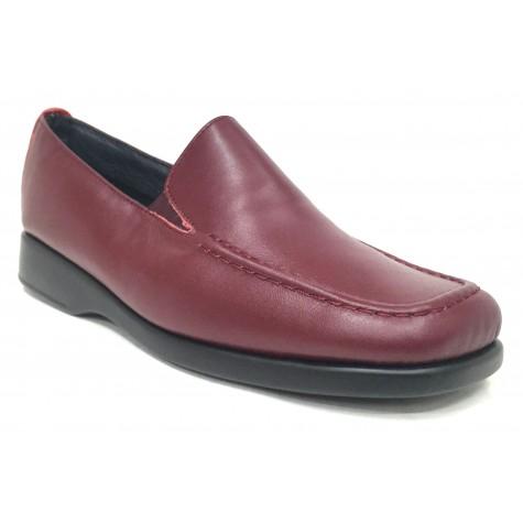 Flex&Go 06 4006 Burdeos Zapato Clásico Mujer