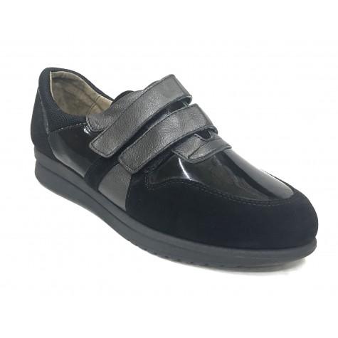 Flex&Go 58 18W9002804 Negro Zapato Deportivo de Mujer