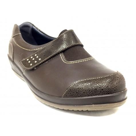 Suave 86 3121 Marrón Zapato Diabético de Mujer