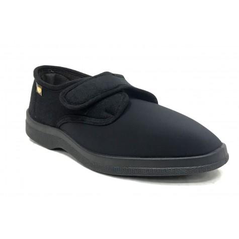 Doctor Cutillas 21286 Negro Zapatilla Hombre Velcro