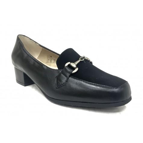 Mima-Pies 26 1101-3541 Negro Zapato de Mujer con Tacón