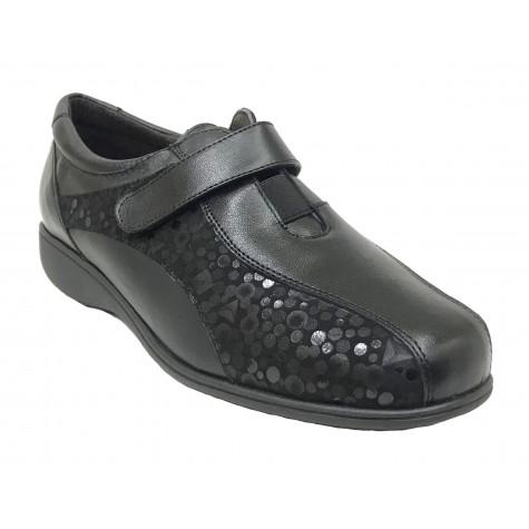 Doctor Cutillas 09A 53421 Negro Zapato de Mujer