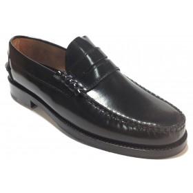 Fleximax 7000 castellano negro piel florenti cuero piso de goma cosido tapa de goma