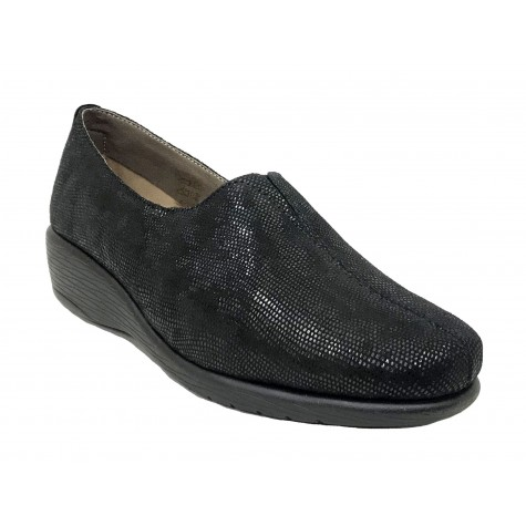 Flex&Go 55A ST0183 Negro Mocasín Mujer