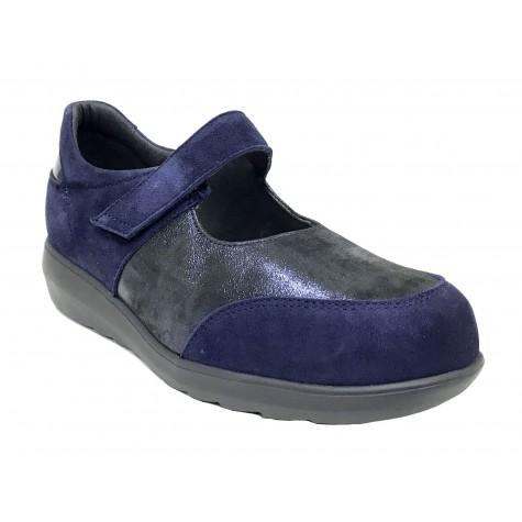 Pinoso's 15 7677-H Marino Zapato Mujer Pie Diabético
