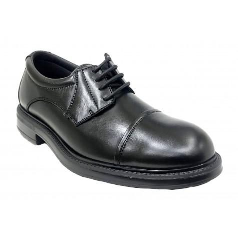 Pinoso's 7625 Negro Ancho 13 Zapato de Hombre con Cordones