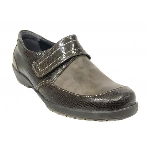 Suave 60A 3010 Coyote Zapato de Mujer Velcro