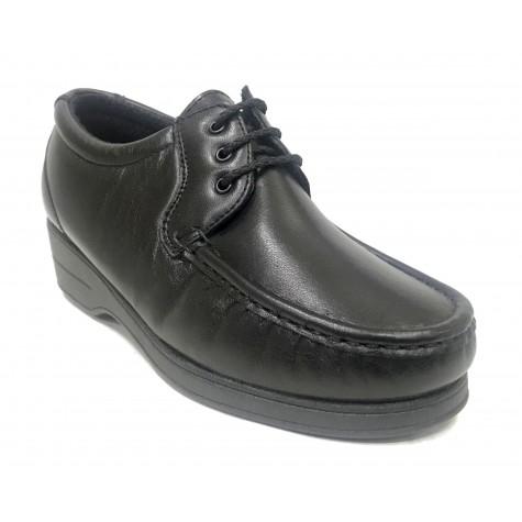 Pinoso's 12 6514 Negro Zapato kiowa Mujer
