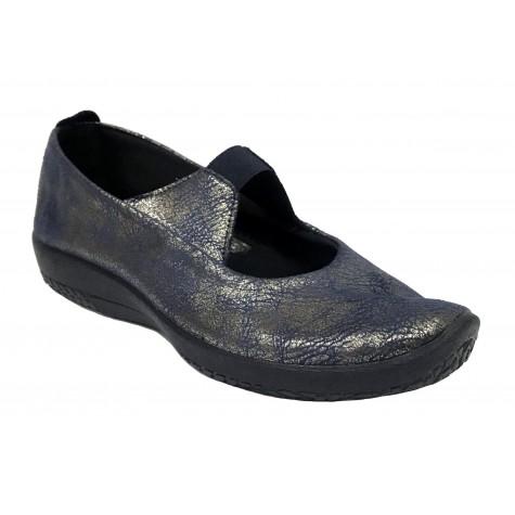 Arcopedico 4671 LEINA Navy Brillo Zapato de Mujer Lytech