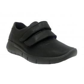 Arcopedico 4785 L79 Negro, zapato deportivo de mujer, lytech, piso ligero, cierre dos velcros y plantilla extraíble
