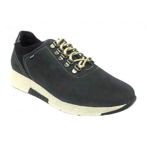 Baerchi 06 36252 Nubuck Azul Zapato deportivo de Mujer