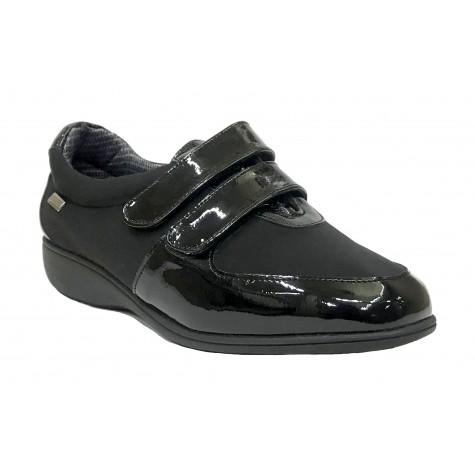 Doctor Cutillas 25 53553 Negro Zapato de Mujer Seco-Tex