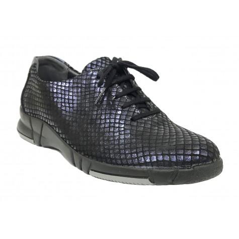 Suave 93B 3204 Airforce Zapato deportivo de Mujer con cordones