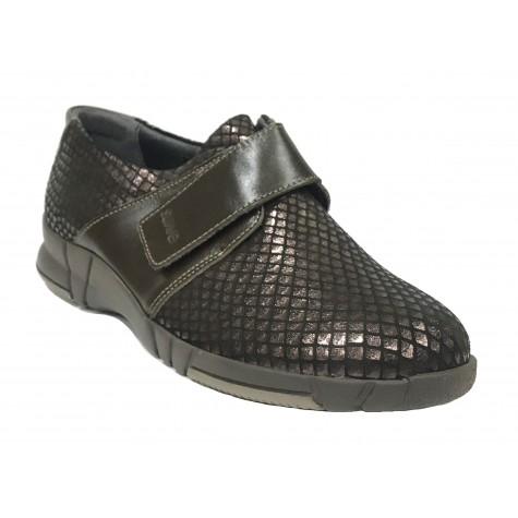 Suave 96 3203 Plum Hickory Zapato deportivo de Mujer Marrón
