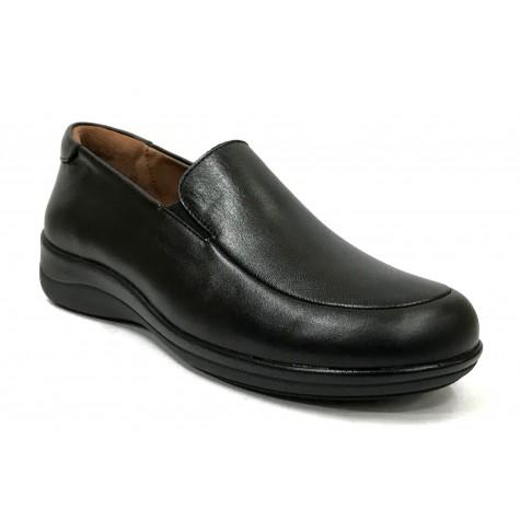 Fleximax 01A 150 Zapato de Mujer Napa Negro