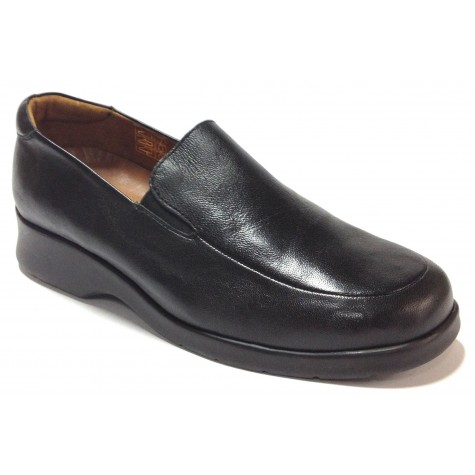 Fleximax 01 35 Zapato de Mujer Napa Negro