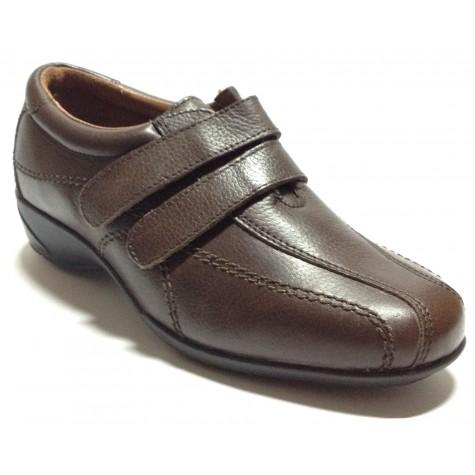 Fleximax 03 121 Zapato Mujer Marrón velcros