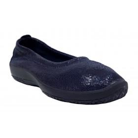 Arcopedico 4241 A11 L15 Navy, zapato de mujer, manoletina azul, lytech, doble arco y plantilla extraíble