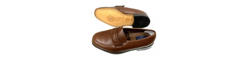 Zapatos con Suela de Cuero para Hombre